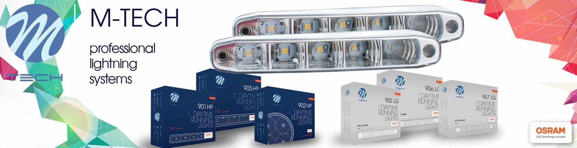 LUCES DIURNAS LED